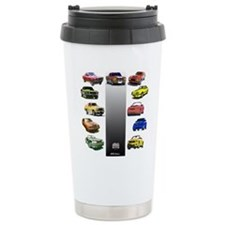 Mustang Gifts Ceramic Travel Mug