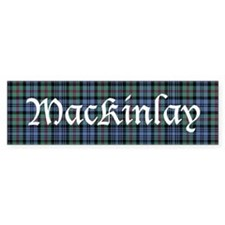 Tartan - MacKinlay Bumper Sticker