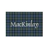 Tartan - MacKinlay Rectangle Magnet (100 pack)