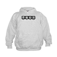Sleep- Run- Eat- Repeat Hoodie