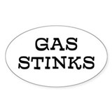 Gas Stinks Decal