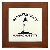 Nantucket MA Framed Tile