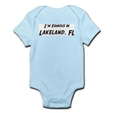 Famous in Lakeland Infant Creeper