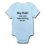 Baby Check Out Infant Bodysuit
