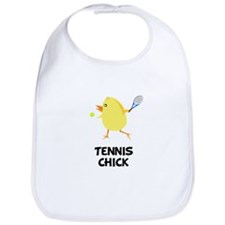 Tennis Chick Bib