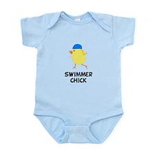 Swimmer Chick Infant Bodysuit
