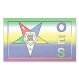 OES Fancy Rectangle Decal