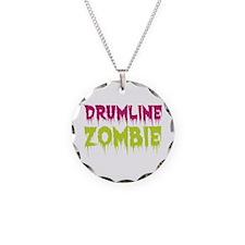 Drumline Zombie Necklace Circle Charm