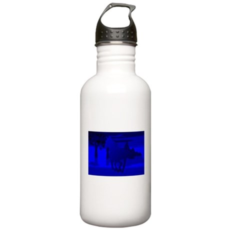 Stallion of Blue Stainless Water Bottle 1.0L