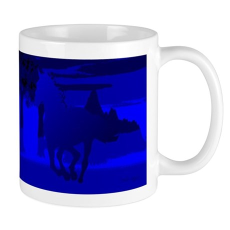 Stallion of Blue Mug