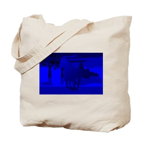 Stallion of Blue Tote Bag