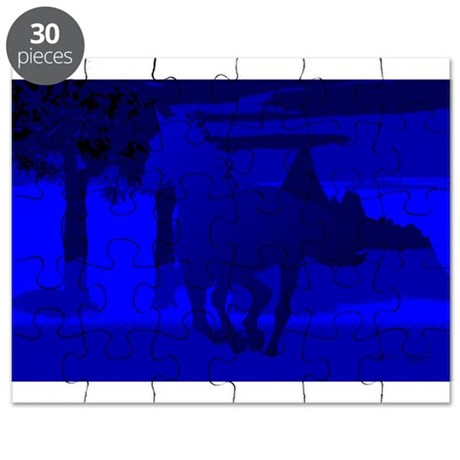 Stallion of Blue Puzzle