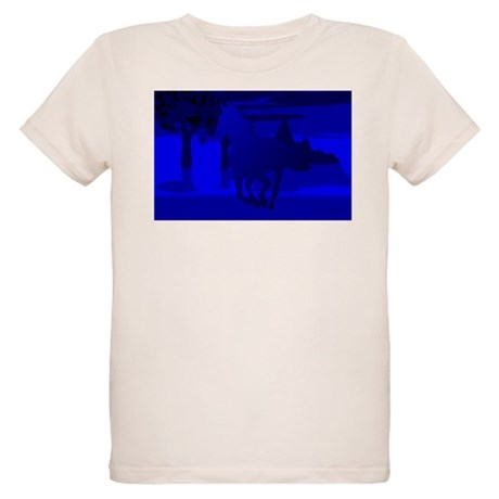 Stallion of Blue Organic Kids T-Shirt