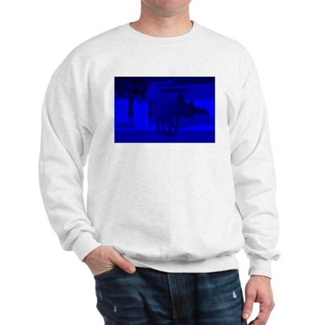 Stallion of Blue Sweatshirt