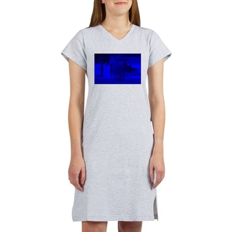 Stallion of Blue Women's Nightshirt