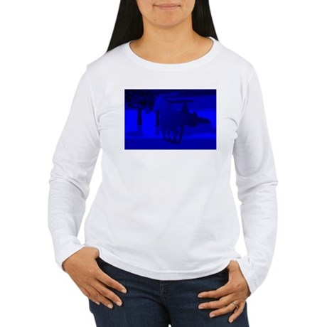 Stallion of Blue Women's Long Sleeve T-Shirt