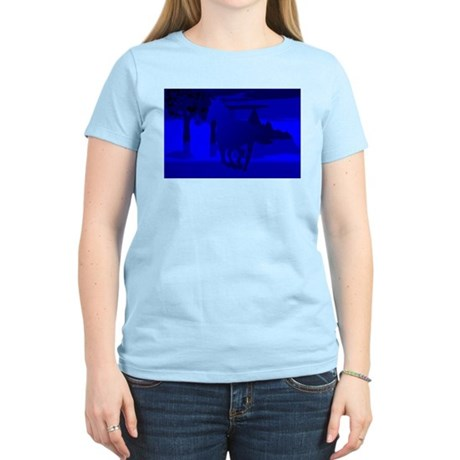 Stallion of Blue Women's Light T-Shirt