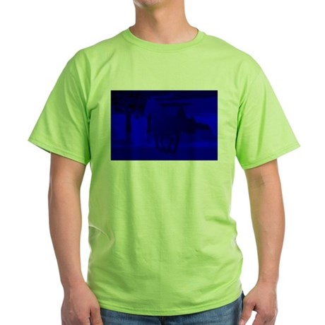 Stallion of Blue Green T-Shirt
