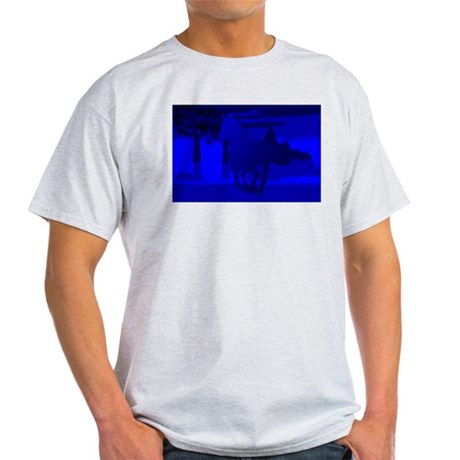 Stallion of Blue Light T-Shirt