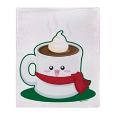 Hot Chocolate! Throw Blanket