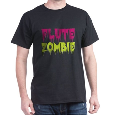 Flute Zombie Dark T-Shirt