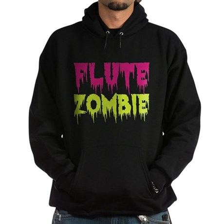 Flute Zombie Hoodie (dark)