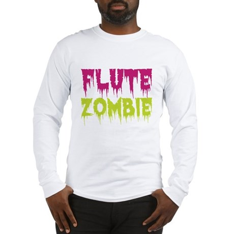 Flute Zombie Long Sleeve T-Shirt