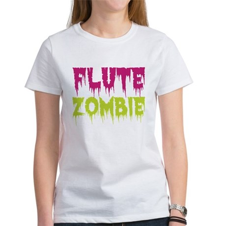 Flute Zombie Women's T-Shirt
