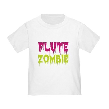 Flute Zombie Toddler T-Shirt