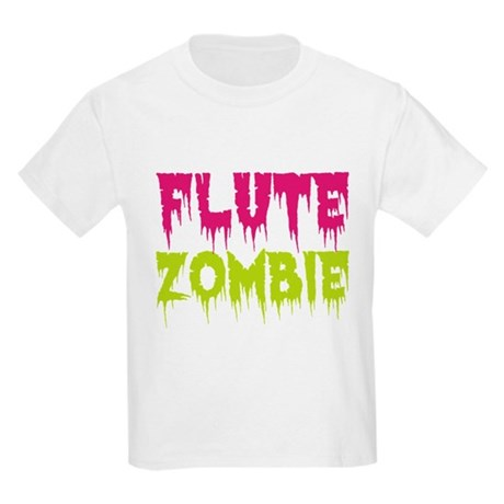 Flute Zombie Kids Light T-Shirt