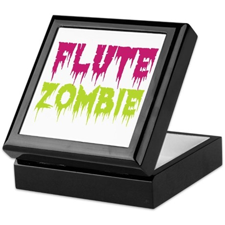 Flute Zombie Keepsake Box