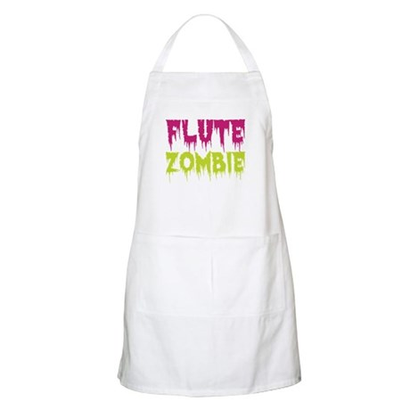 Flute Zombie Apron