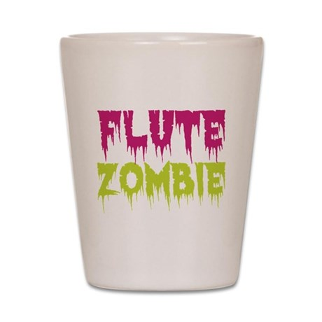Flute Zombie Shot Glass