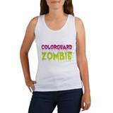 Colorguard Zombie Women's Tank Top