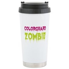 Colorguard Zombie Ceramic Travel Mug