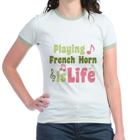 French Horn is Life Jr. Ringer T-Shirt