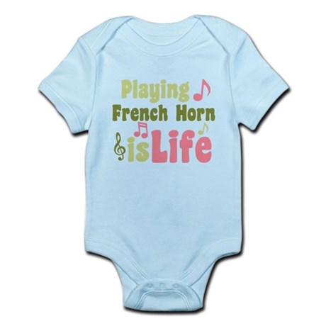 French Horn is Life Infant Bodysuit