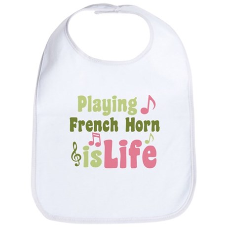 French Horn is Life Bib