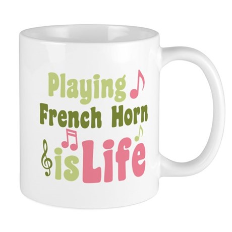 French Horn is Life Mug