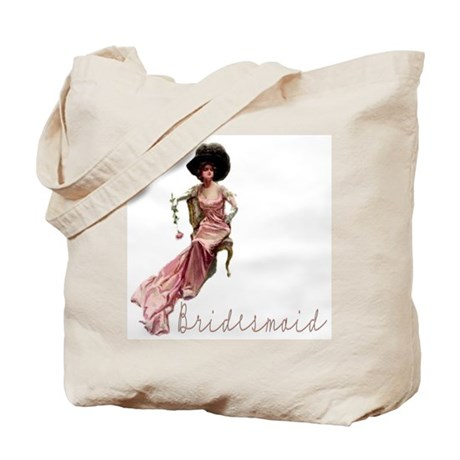 Vintage Romance Bridesmaid Tote Bag
