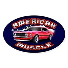 American Muscle - Mustang Decal