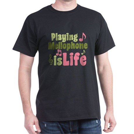 Mellophone is Life Dark T-Shirt