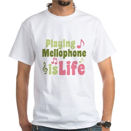 Mellophone is Life White T-Shirt