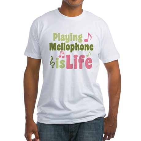 Mellophone is Life Fitted T-Shirt