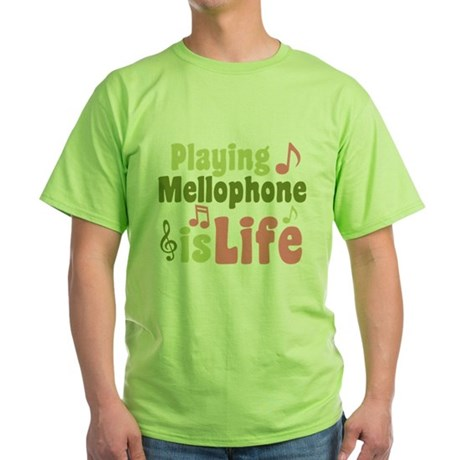 Mellophone is Life Green T-Shirt