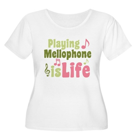 Mellophone is Life Women's Plus Size Scoop Neck T-
