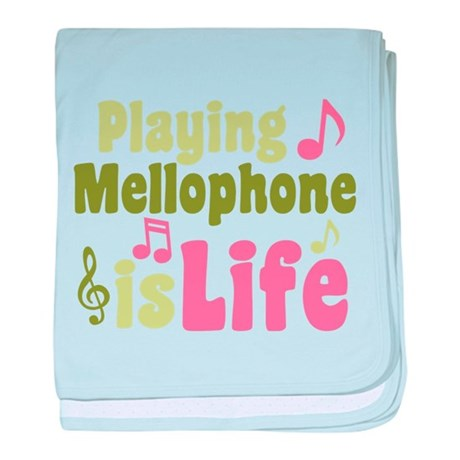 Mellophone is Life baby blanket