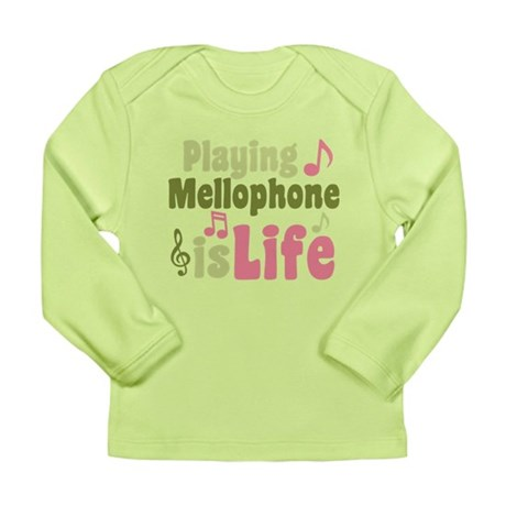 Mellophone is Life Long Sleeve Infant T-Shirt