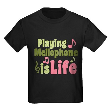 Mellophone is Life Kids Dark T-Shirt