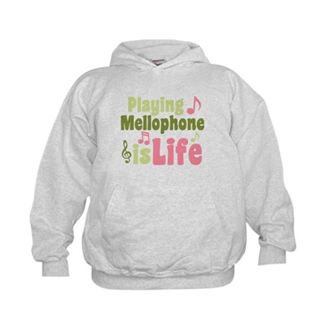 Mellophone is Life Kids Hoodie